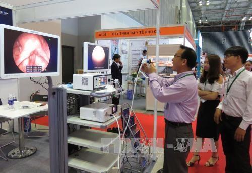 第16届越南国际医药制药医疗器械展览会正式开展 hinh anh 1