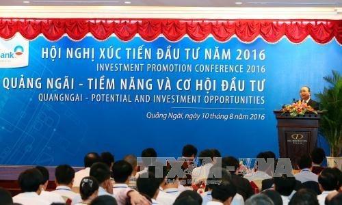 越南广义省与企业并肩前行 为企业营造更宽松更便利投资环境 hinh anh 1