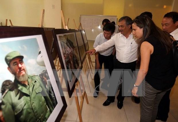 越南古巴合作关系图片展在河内开展 hinh anh 1