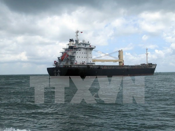 菲律宾籍船员海上突发重病 越方及时救助 hinh anh 1