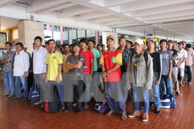 印尼释放49名越南渔民 hinh anh 1