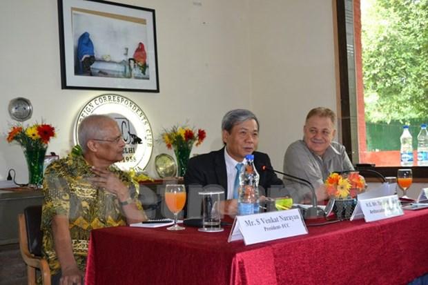 越南与印度有着扩大合作的良好基础 hinh anh 1