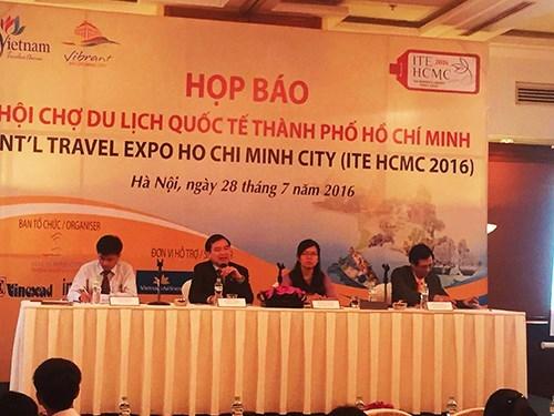 2016年越南胡志明市国际旅游博览会将是湄公河下游区域的旅游合作机会 hinh anh 1
