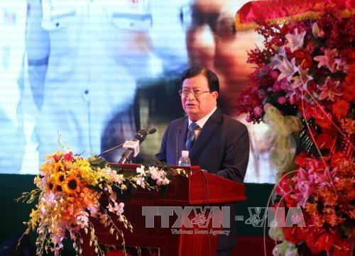 越苏石油联营公司成立35周年暨第一吨原油开钻30周年纪念仪式 hinh anh 3