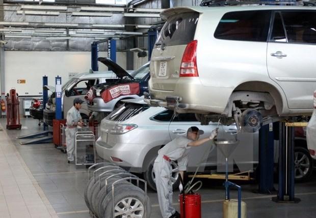 今年前7月越南汽车销售量达163867辆 hinh anh 1