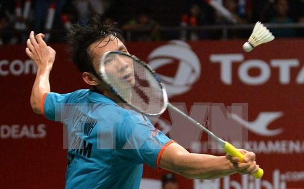 2016年里约奥运会羽毛球比赛:越南选手阮进明取得小组赛的两连胜 hinh anh 1