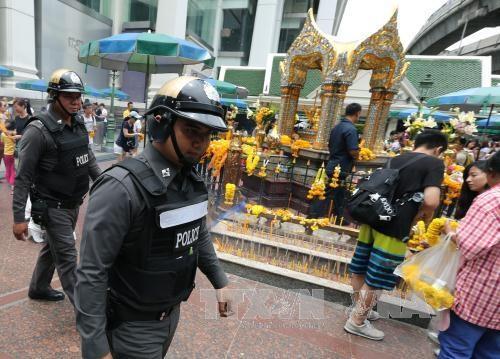 泰国警方在3个旅游景点发现未引爆炸弹 hinh anh 1