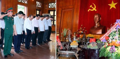 阮春福总理走访慰问越南人民军第四军区干部战士 hinh anh 3