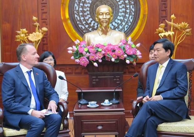 欧洲愿意提供援助把越南胡志明市建设成为东南亚中心 hinh anh 1