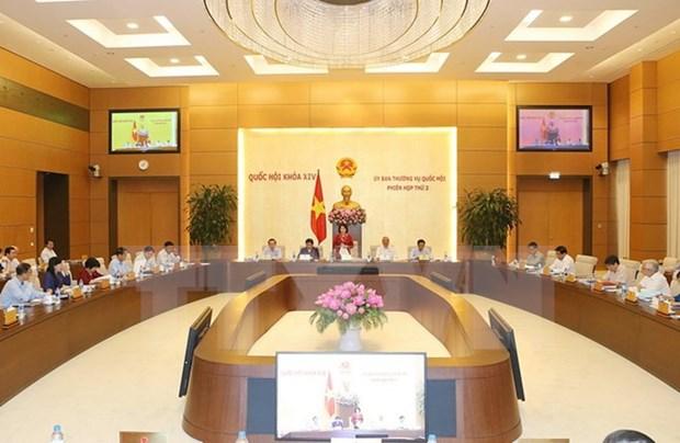越南第十四届国会常委会二次会议:需保障乡级公安的执法条件 hinh anh 1