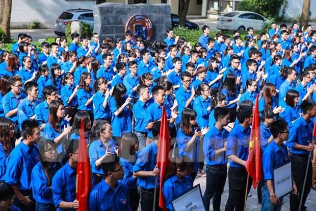 逾14.7万名青年参加2016年志愿活动 hinh anh 1