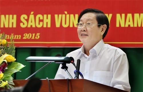 越南内务部部长黎永新:推进行政改革和建设创新型政府 hinh anh 1