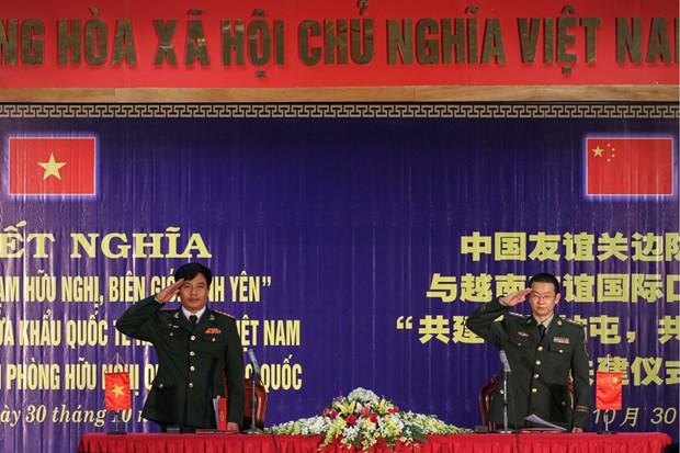 越中加强合作有效打击人口贩卖 hinh anh 3