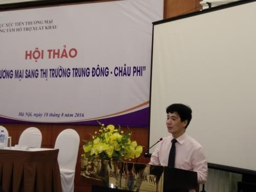 越南加大对中东和非洲市场贸易促进工作力度 hinh anh 1