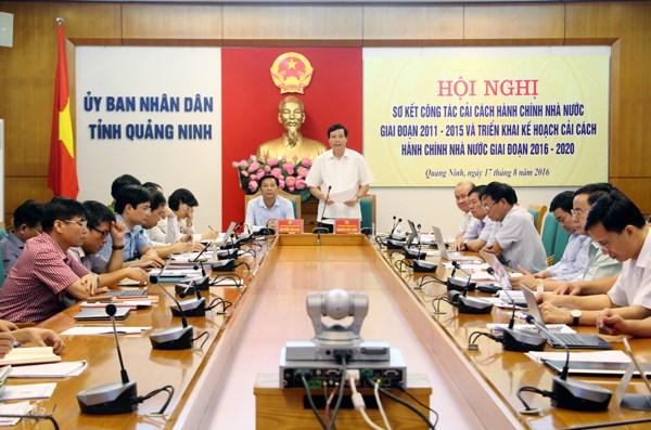 越南行政改革指数:广宁省位居越南第六 hinh anh 1