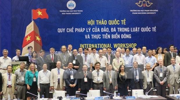 关于东海问题研讨会强调维护东海和平稳定的重要性 hinh anh 1