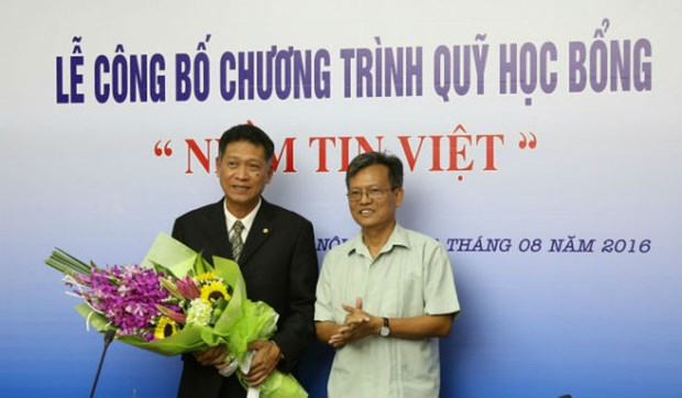 """越南电视台和电力集团颁发""""越南的信念""""助学金 hinh anh 1"""