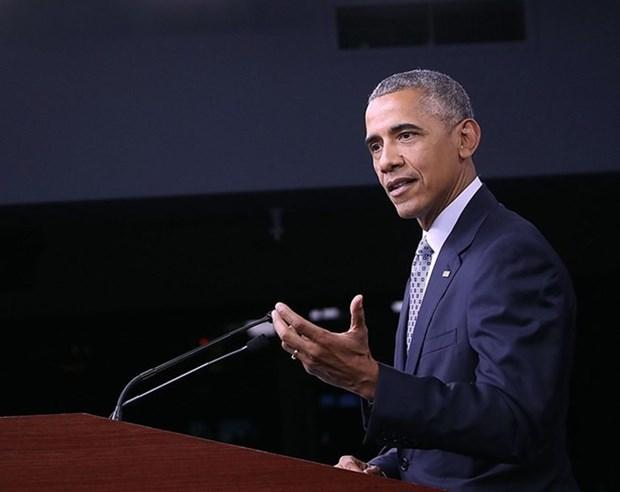 奥巴马总统将赴老挝出席美国-东盟领导人峰会 hinh anh 1