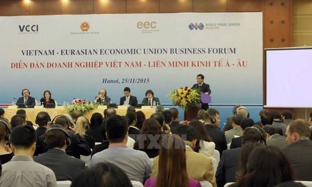 越南与欧亚经济联盟自贸协定将从10月5日起正式生效 hinh anh 1
