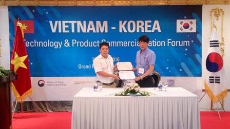 韩国已对越南400家企业进行技术转让 hinh anh 1