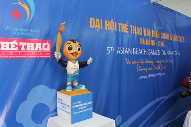 42个国家将赴越南岘港参加第5届亚洲沙滩运动会 hinh anh 1