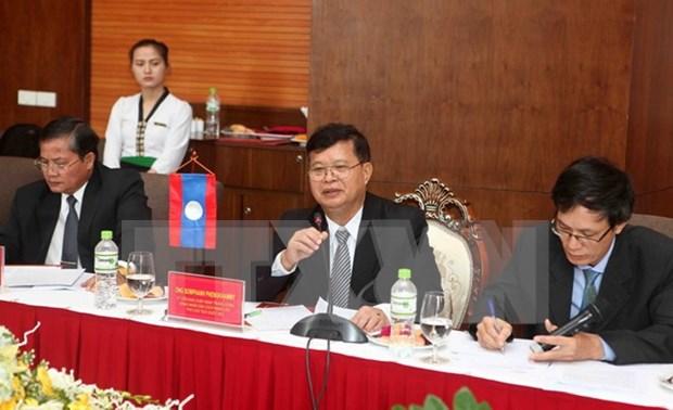 老挝国会副主席访问乂安省 hinh anh 1
