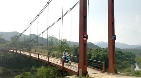 越南宣光省安山县高山偏远地区各乡建设基础设施 hinh anh 1