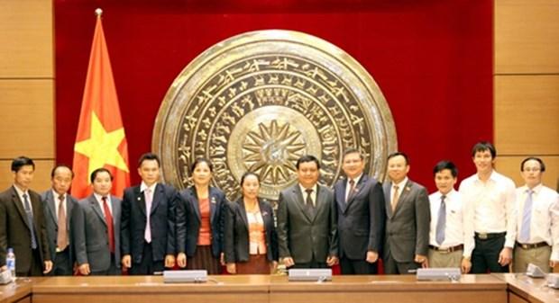 越老促进人民议会领域的经验交流与合作 hinh anh 1