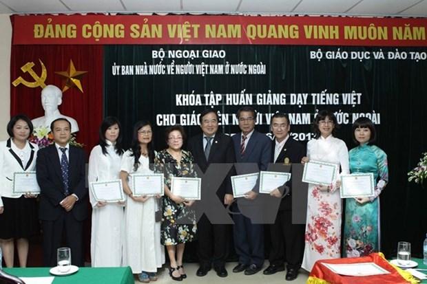 越南一向重视海外越南人学习和传承民族语言 hinh anh 1