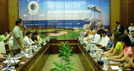 逾800名选手参加2016年FLC高尔夫球锦标赛 hinh anh 1