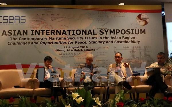航海安全是亚洲地区的挑战和机遇 hinh anh 1