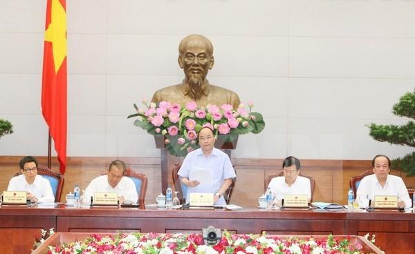 政府总理阮春福:环保需要贯穿发展过程 hinh anh 1