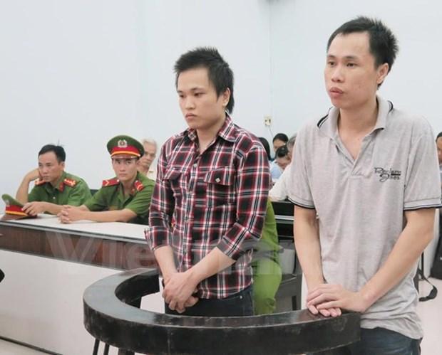 """庆和省人民法院一审公开开庭 审理涉嫌""""宣传破坏越南社会主义共和国""""案两名被告人 hinh anh 1"""