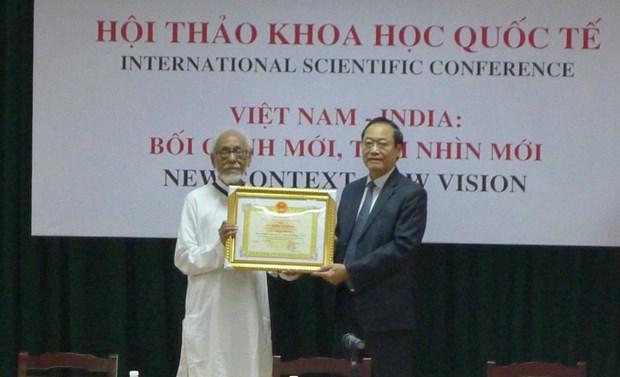 越南与印度推动两国关系迈上新台阶 hinh anh 1