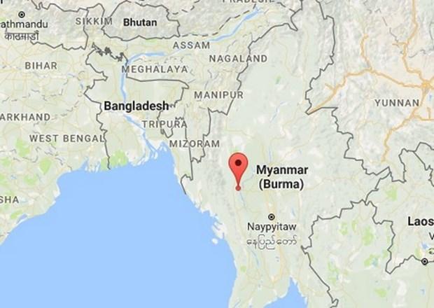 缅甸发生6.8级地震 60余座佛塔受损 hinh anh 1