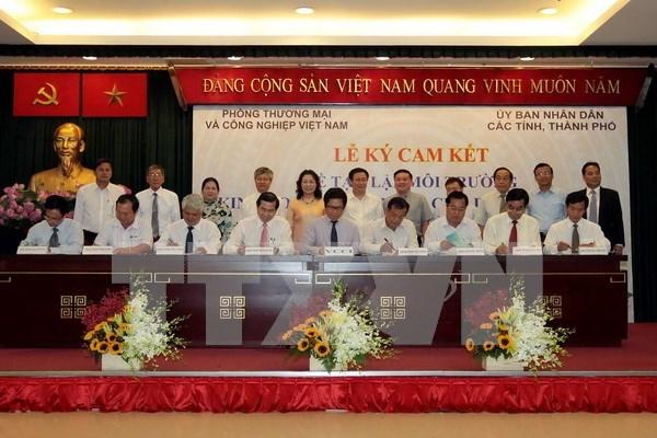 越南40多个省市承诺为企业营造便利化营商环境 hinh anh 1