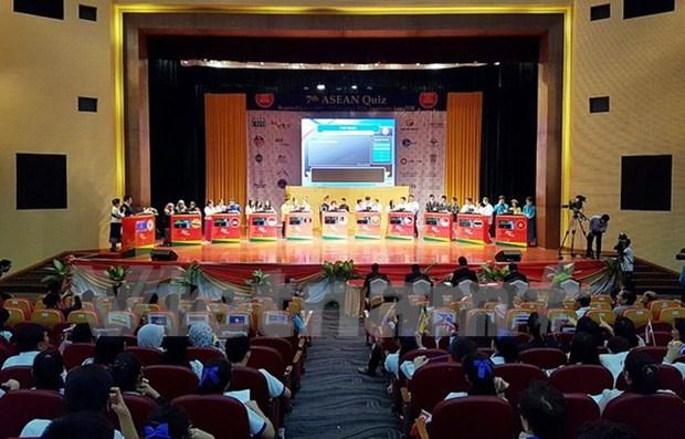 老挝学生在第7届东盟知识大赛总决赛夺冠 hinh anh 1