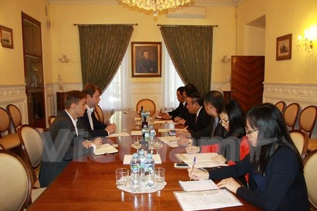 越共中央宣教部代表团出访俄罗斯联邦 hinh anh 1