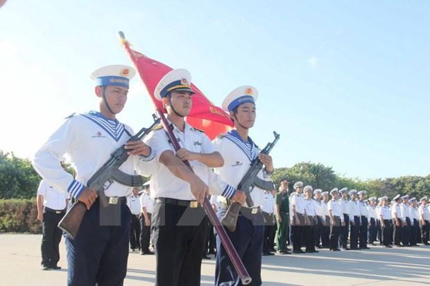 永隆省加大工会职工的海洋岛屿法律知识宣传力度 hinh anh 1