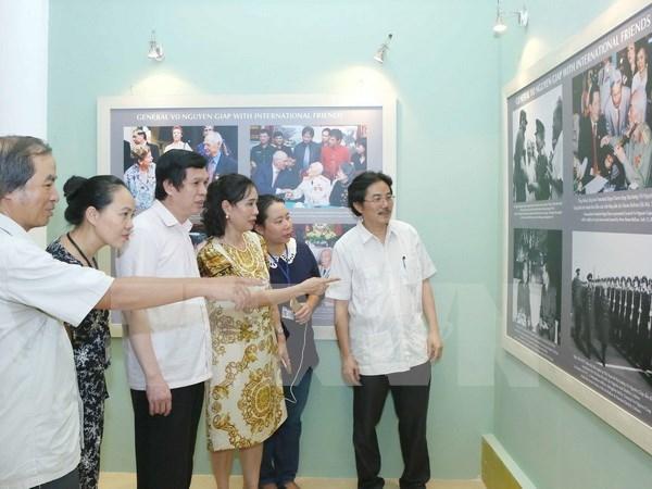 《武元甲大将——传奇人物的肖像》摄影展在河内举行 hinh anh 1