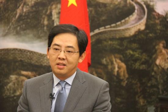 中国驻越大使洪小勇:越中两国军队尚有巨大潜力有待挖掘 hinh anh 1