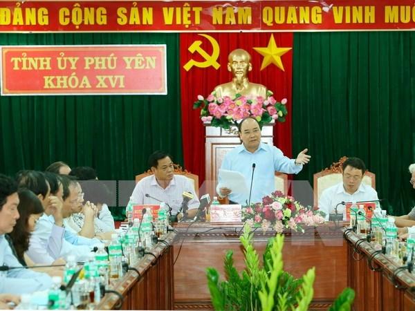 阮春福总理:把旅游业发展成为富安省支柱产业 hinh anh 1