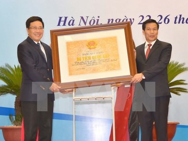 越南外交部总部被列为国家级历史遗迹 hinh anh 1