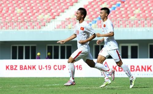 U19 KBZ Bank Cup 2016:越南U19队夺魁 hinh anh 1