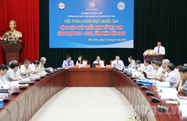 为2016—2020年越南经济创造发展动力 hinh anh 1