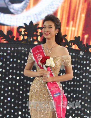 2016年越南小姐选美大赛总决赛:杜美玲佳丽摘得桂冠 hinh anh 3