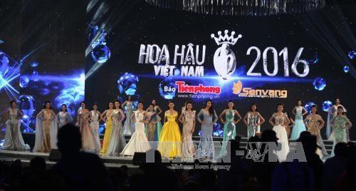 2016年越南小姐选美大赛总决赛:杜美玲佳丽摘得桂冠 hinh anh 2