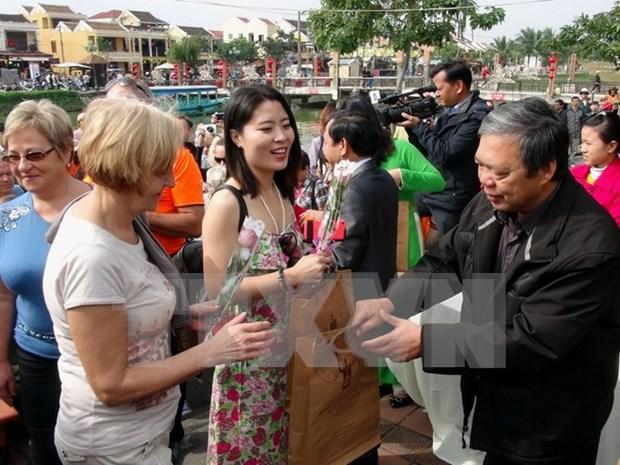 今年前8月越南接待国际游客同比增长25.4% hinh anh 1