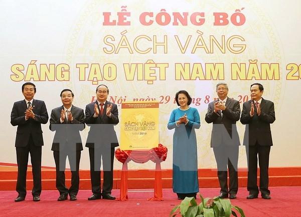 """""""2016年越南创新金书""""公布仪式在河内举行 hinh anh 1"""
