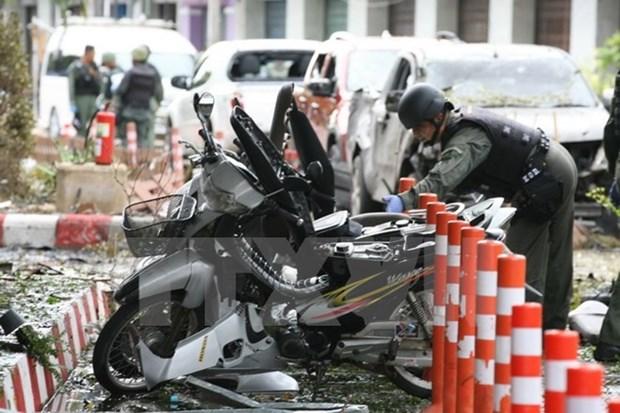 泰国警方确定南部系列爆炸袭击事件与伊斯兰教叛军有关 hinh anh 1